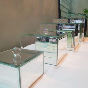 Spejl kasser, makeup opbevaring kasser