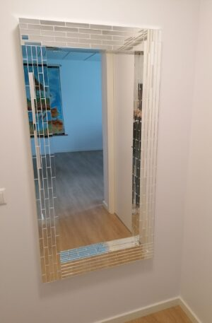 Rektangel spejl - unikke kanter