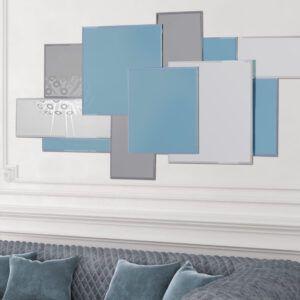 spejl - maldiverne blå
